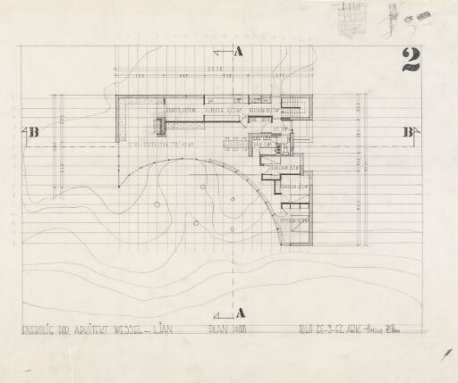 Villa Wessel. Plan.