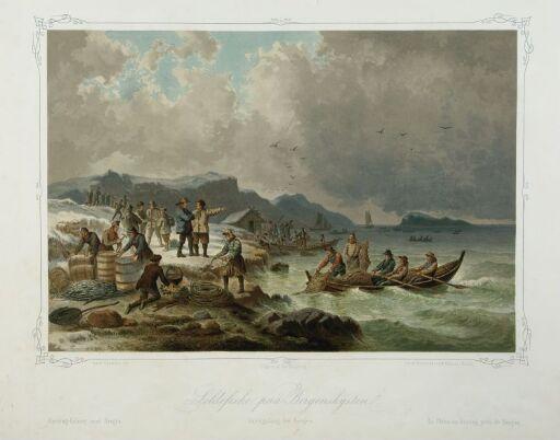 Herring Fishery near Bergen