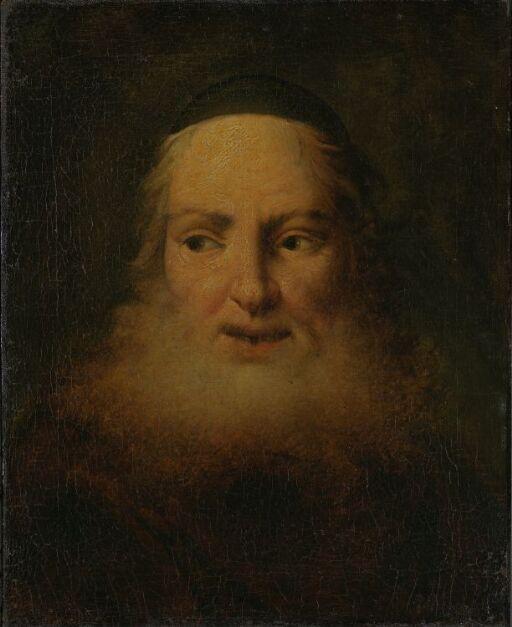 En gammel mann med skjegg