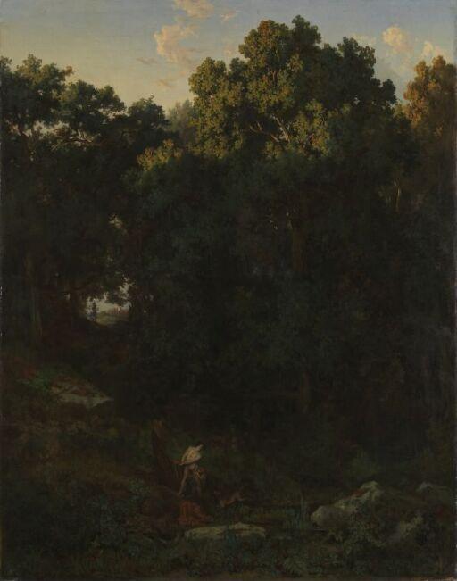 Landskap med Milon fra Kroton
