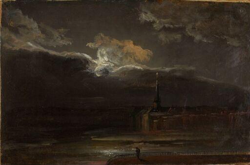 Dresden in Moonlight