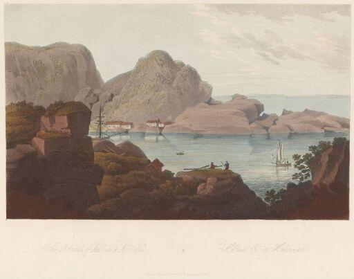 Kapelløya sett fra Monsøya, Ny-Hellesund