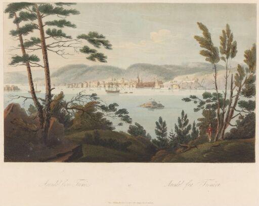 Arendal sett fra Tromøy
