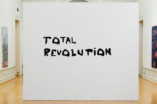 Untitled Wall Painting (Total Revolution)