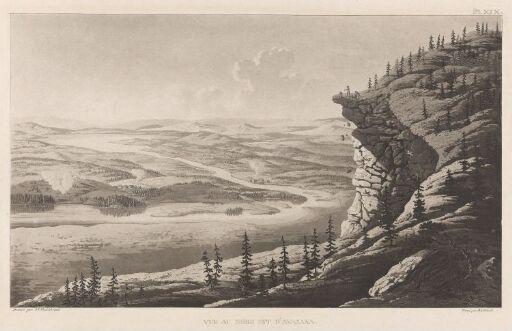 Utsikt mot nordøst fra Aavasaksa