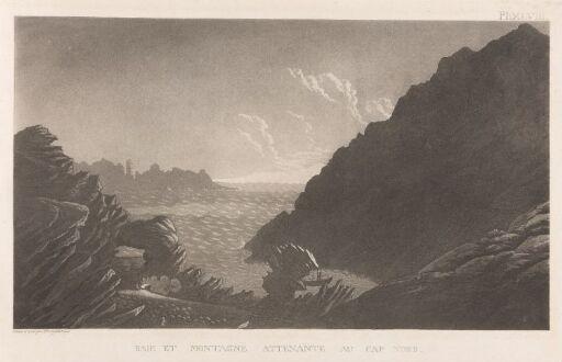 Bukt og fjell ved Nordkapp