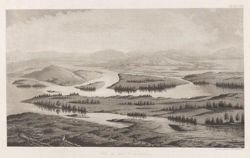Utsikt mot sør fra Aavasaksa