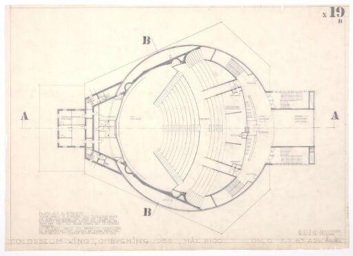 Ombygging av Colosseum teater