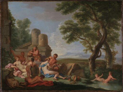 Bacchanal Scene in a Landscape