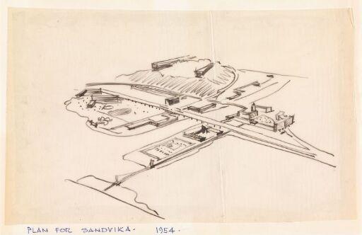 Plan for Sandvika