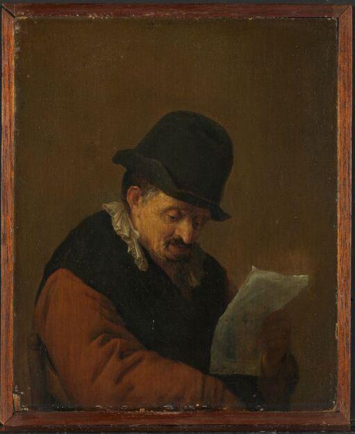 Lesende mann