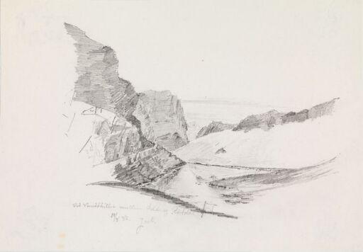 Ved vannskillet mellom Odda og Røldal