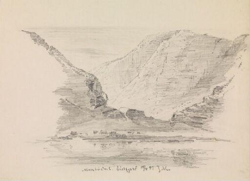 Fra Måbødalen. Eidfjord