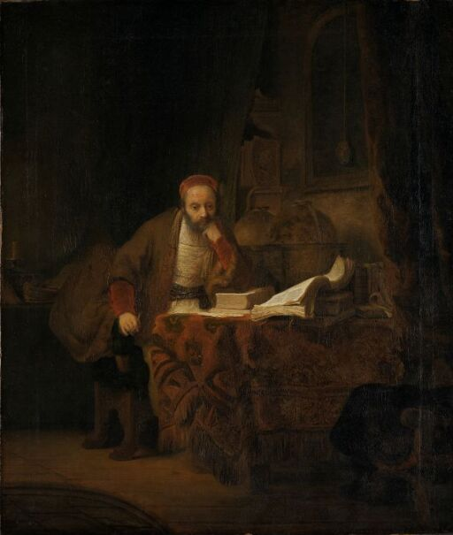 A Scholar in his Study