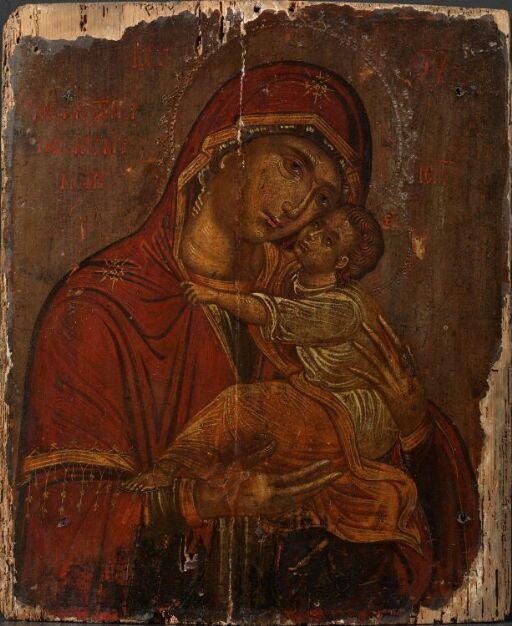 """Guds Moder Glykophilousa """"De fortviledes håp"""""""