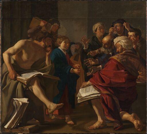 Kristus som barn i tempelet
