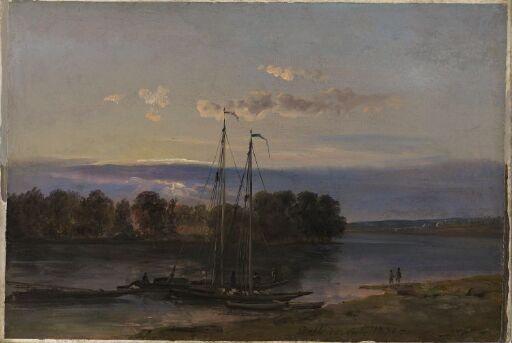Aftenstemning ved Elben