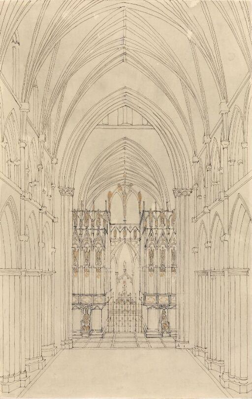 Forslag til orgel i Nidarosdomen