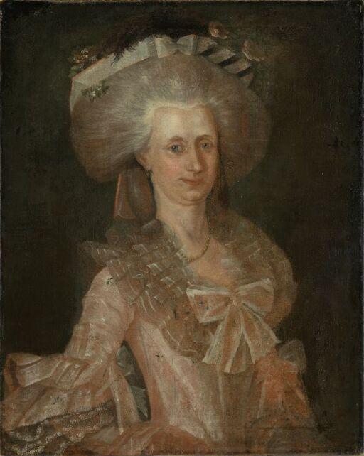 Portrait of Mrs. Vosgraff, b. Trochmann Knap