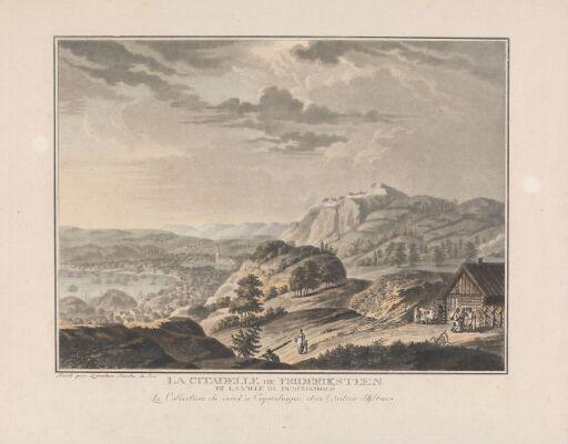 Fredriksten festning og byen Fredrikshald