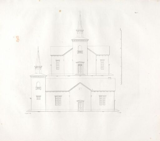 Designs for Church Buildings on the Norwegian Contryside