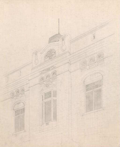 Fra Finansdepartementets fasade