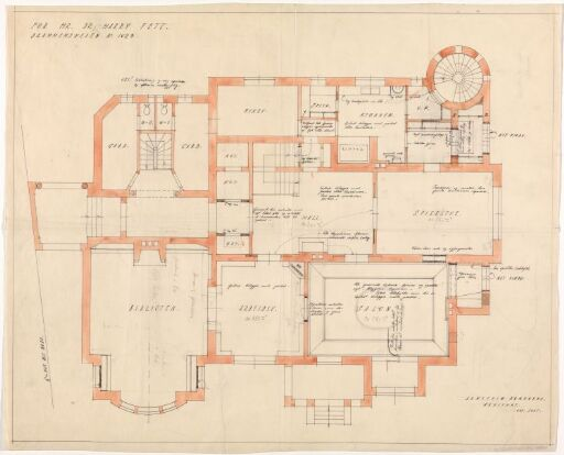 Ombygging av villa for Harry Fett