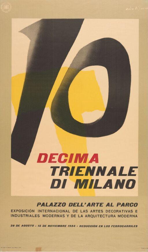 Decima Triennale di Milano