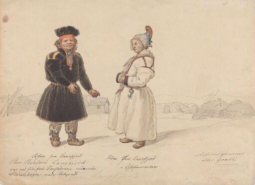 Draktstudier fra Tanafjord og Laksefjord