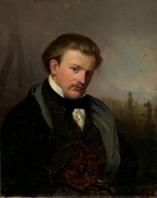 Den norske maler G.A. Mordt