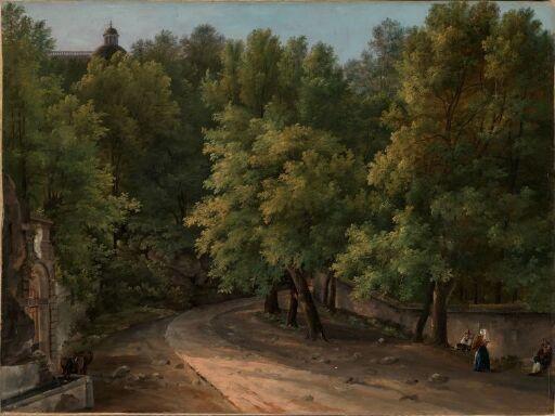 From the Park at Palazzo Chigi, Ariccia