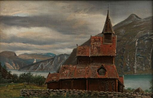 Urnes stavkirke i Sogn