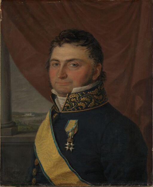 Statsråd Nicolay Johan Lohmann Krog