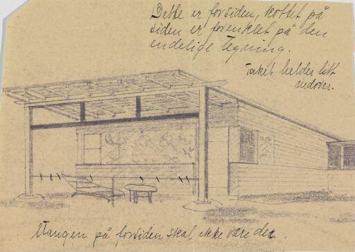 Skjærgårdshus for søster Olga Norgaard