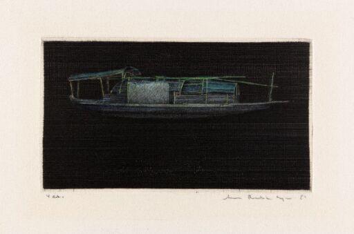 Kinesisk husbåt IV