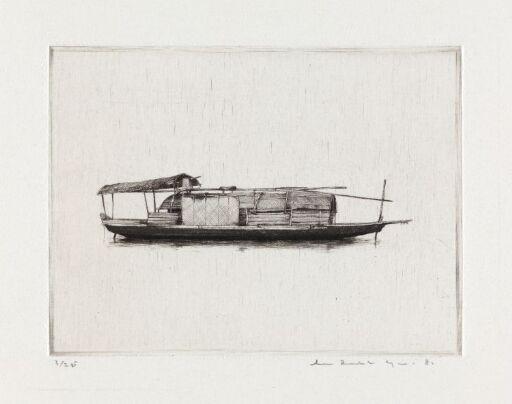 Kinesisk husbåt II