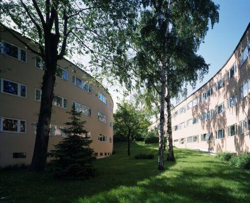 Rekkehus i Professor Dahls gate