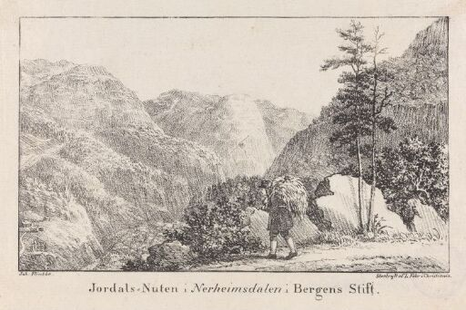 Jordalsnuten i Nærøydalen