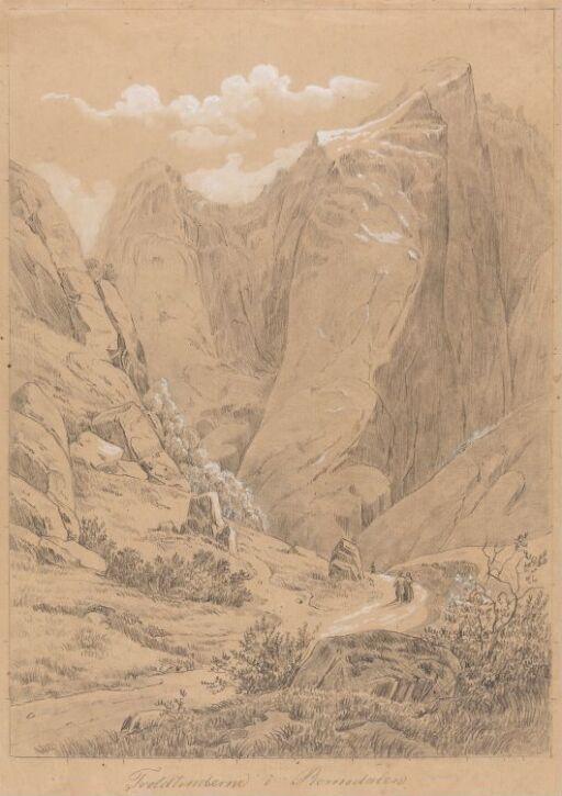 Trolltindene i Romsdalen. Etter J. Calmeyer