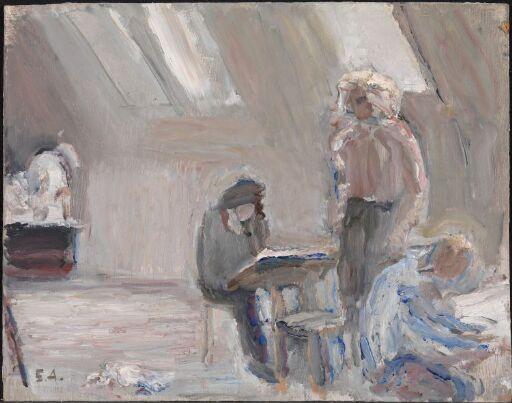 Tre elever