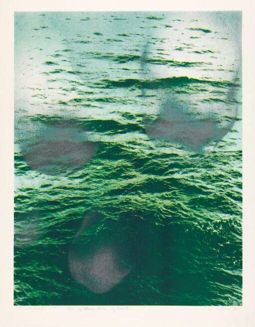 Du og tårene dine, og havet