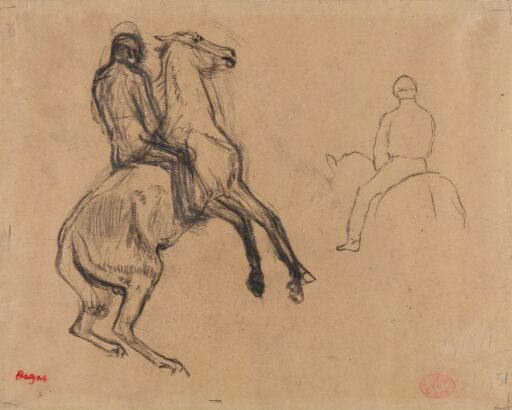 Studies of a Horse and Rider