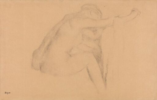 Female Nude Seated
