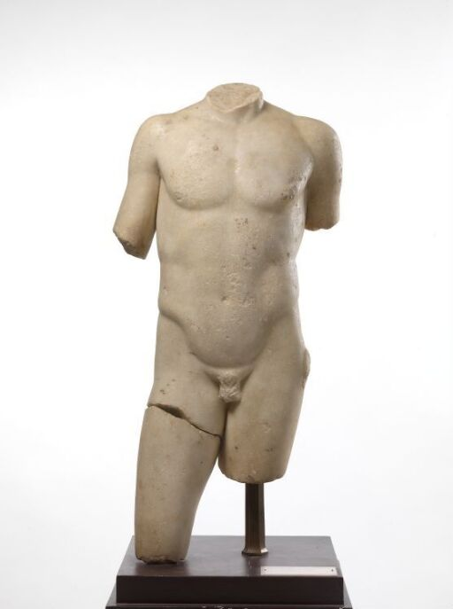 Mannstorso, type Apollon Centocelle