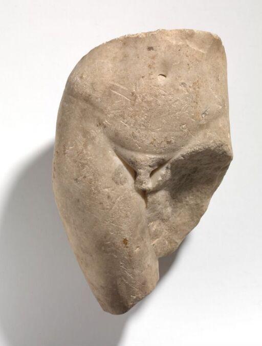 Statuett av en gravgenius (?)