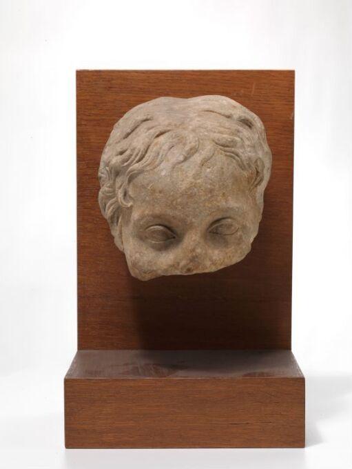 Head of Eros or a boy