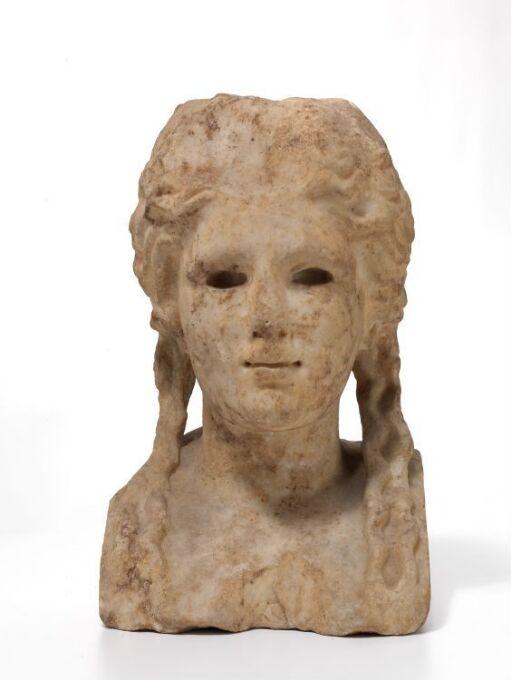 Herm bust of Apollo