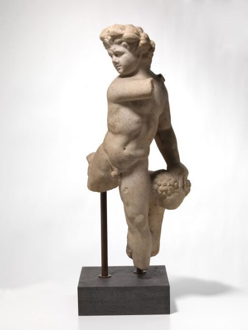 Statuette of a satyr with panther