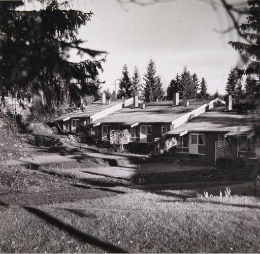 Rekkehus i Bærum