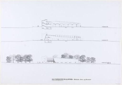 Utkast til Kultursenter på Ulefoss - Bibliotek, arkiv og museum